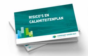 risico en calamiteiten plan