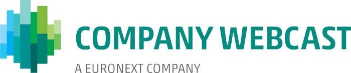 Company Webcast - A Euronext company