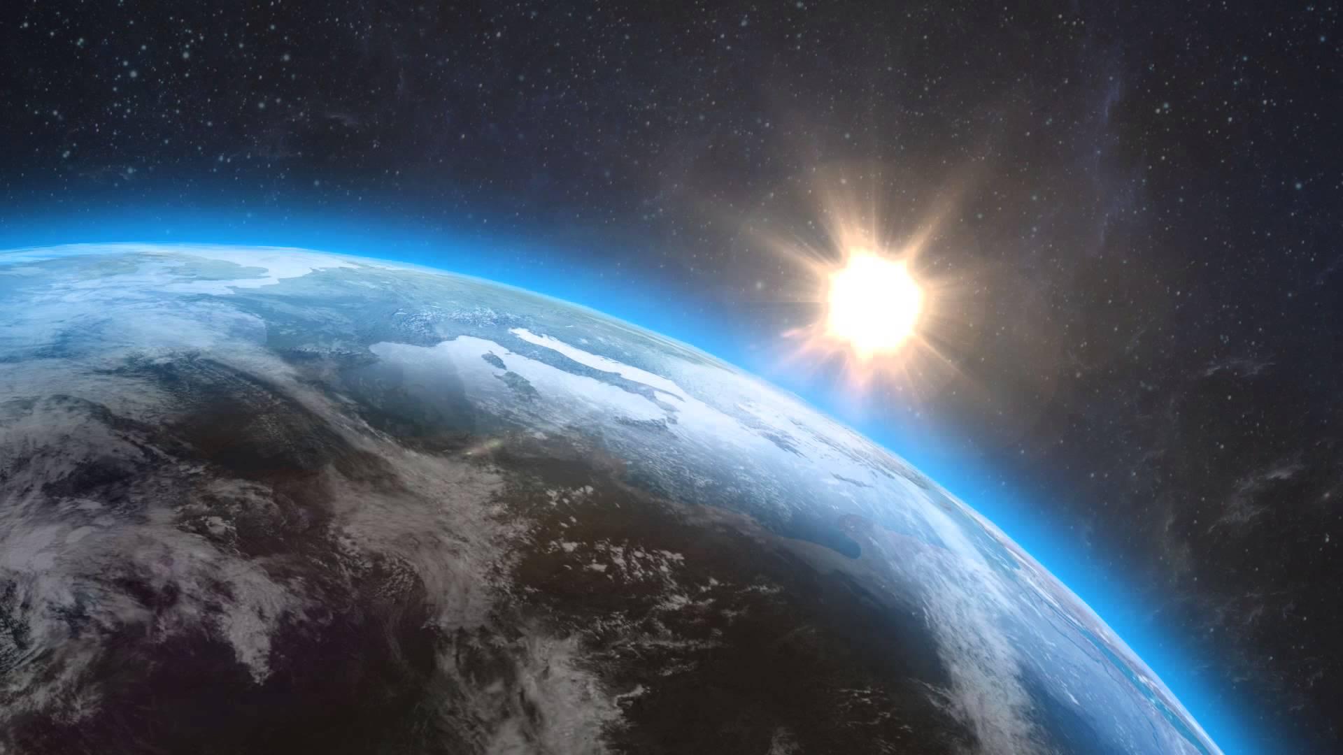 Обои земля в космосе